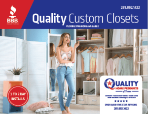 Quality Home Products Of Texas Expands With Custom Closets